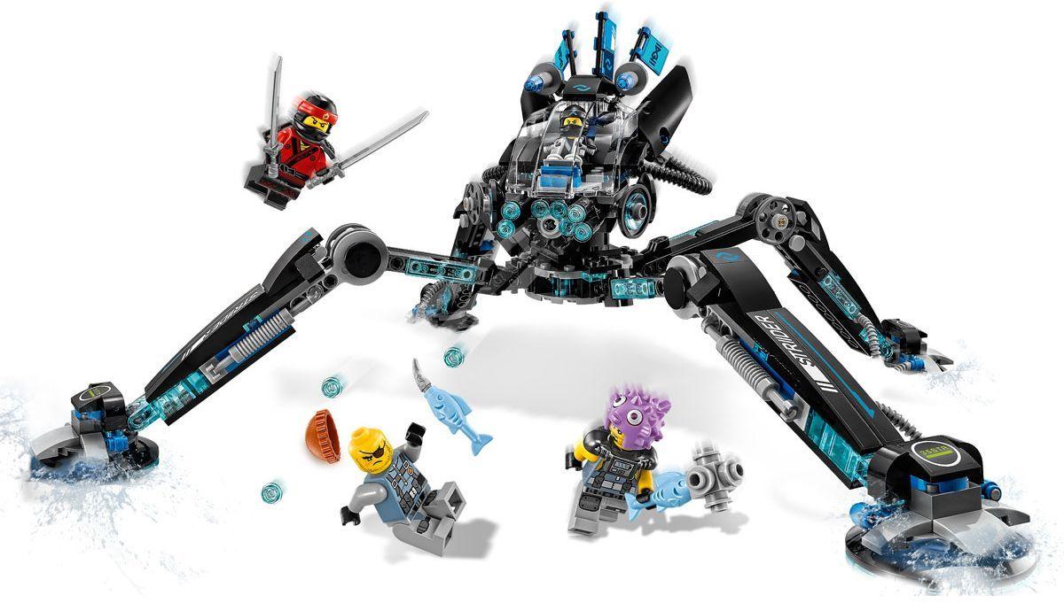 Конструктор Lego Ninjago - Водомерка (70611) - 8