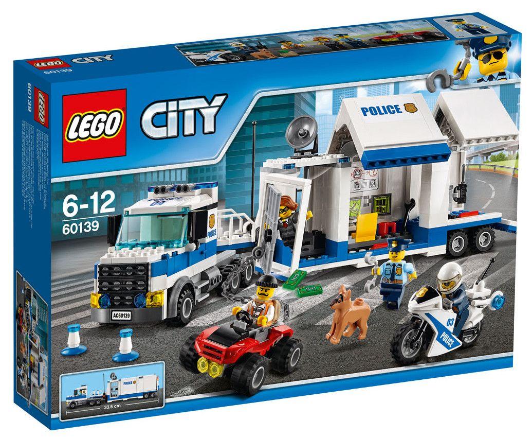 Конструктор Lego City - Мобилен команден център (60139) - 1