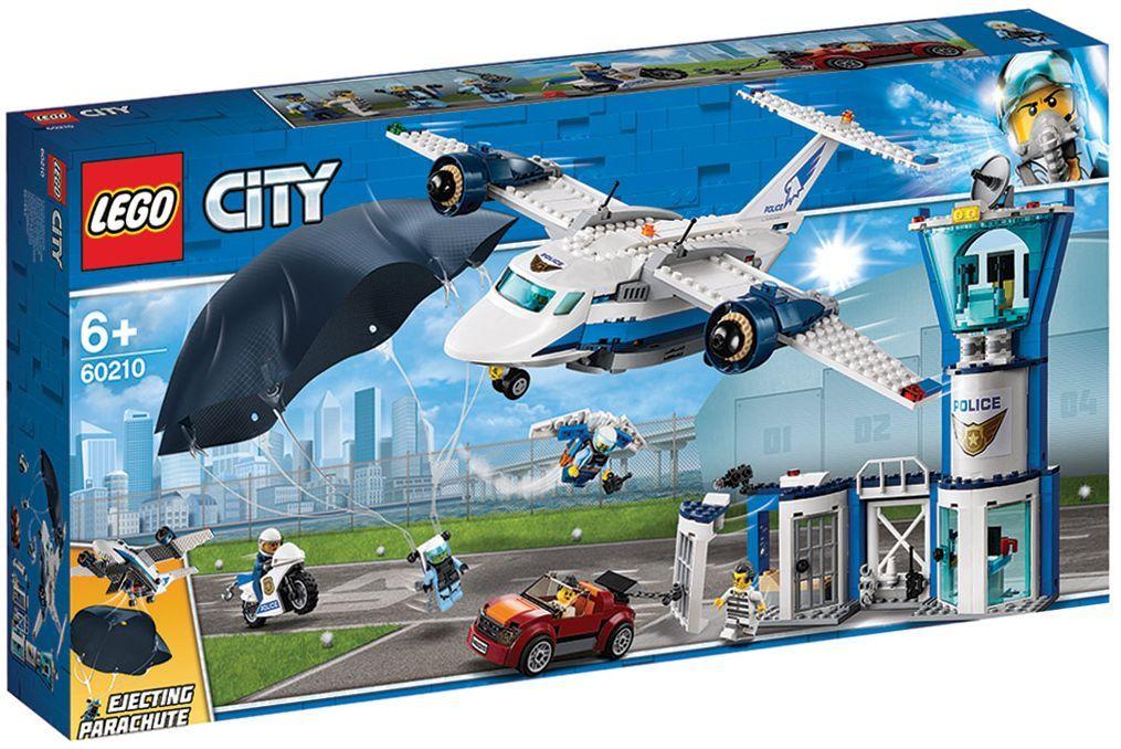 Конструктор Lego City - Полиция в небето, въздушна база (60210) - 10
