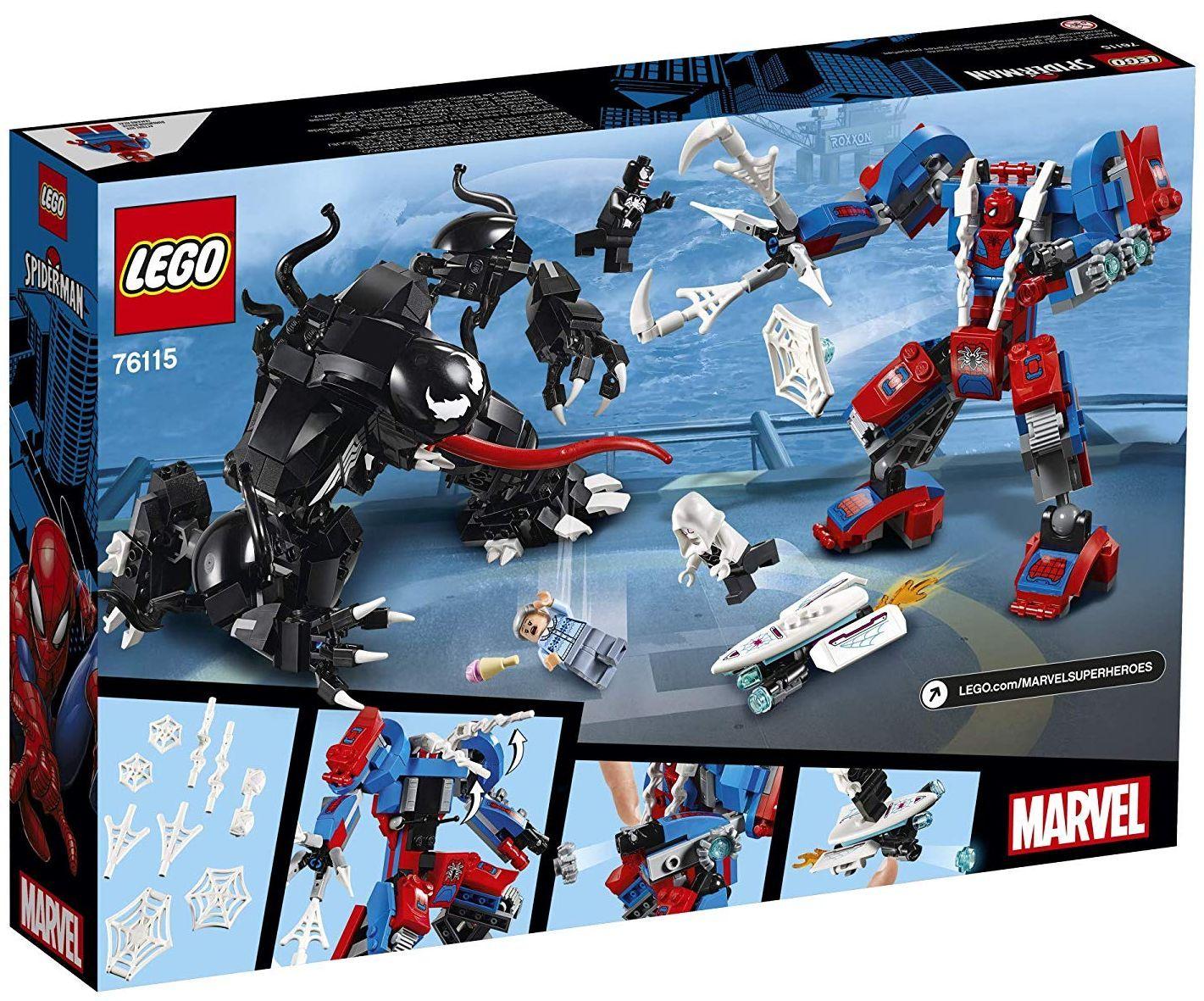 Конструктор Lego Marvel Super Heroes - Spider Mech vs. Venom (76115) - 5
