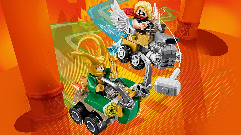 Конструктор Lego Super Heroes - Mighty Micros: Thor vs. Loki (76091) - 4