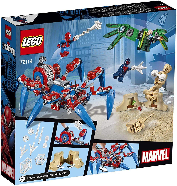 Конструктор Lego Marvel Super Heroes - Машината на Spider-Man (76114) - 4