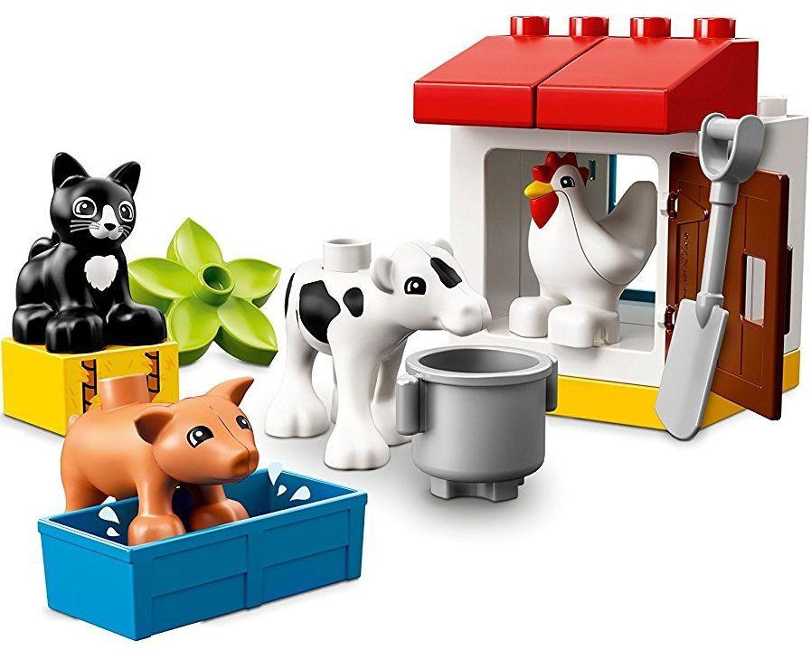 Конструктор Lego Duplo - Животни във ферма (10870) - 4