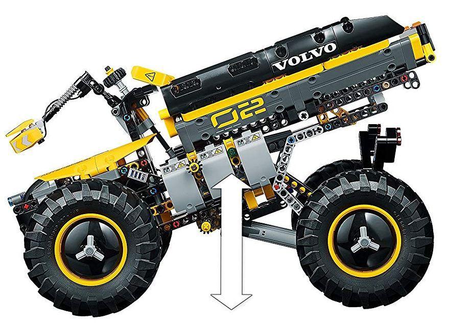 Конструктор Lego Technic - Volvo концепция, колесен товарач (42081) - 4
