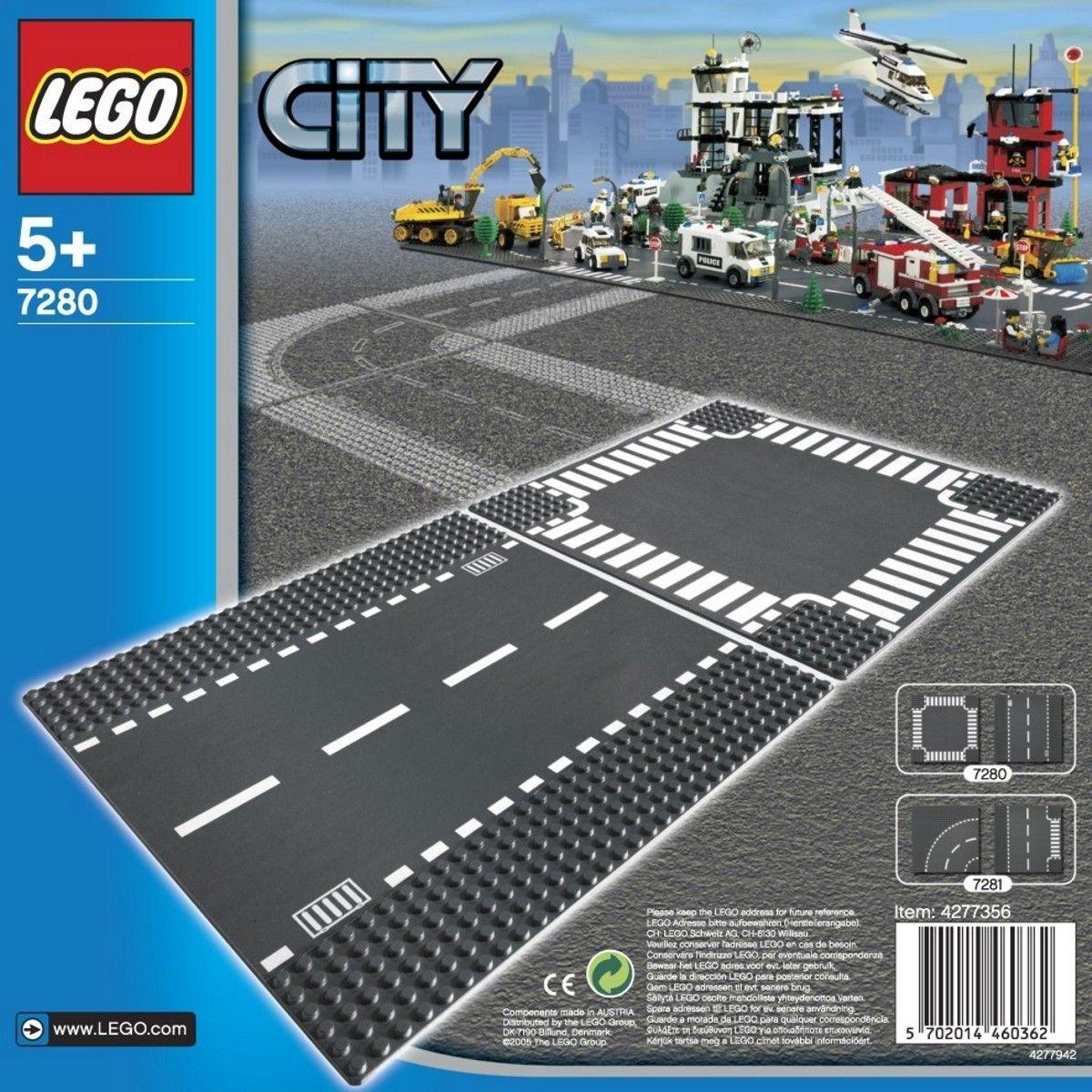 Конструктор Lego City - Разширение на града на Лего (7280) - 1