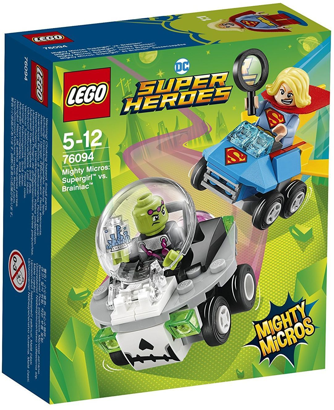 Конструктор Lego Super Heroes - Mighty Micros: Supergirl™ vs. Brainiac™ (76094) - 1