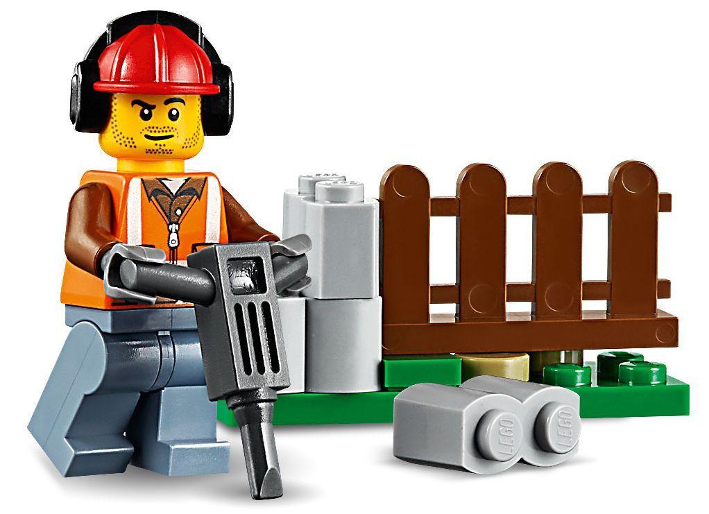 Конструктор Lego City - Строителен товарач (60219) - 9