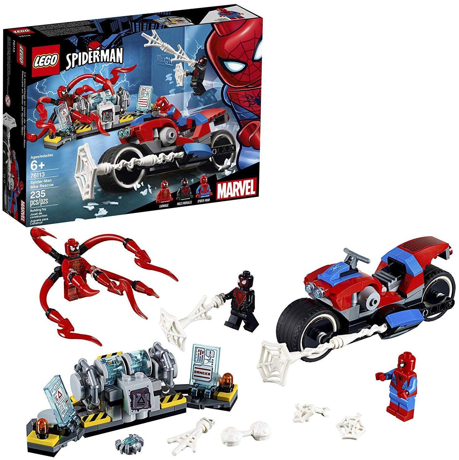 Конструктор Lego Marvel Super Heroes -Spider-Man Bike Rescue (76113) - 1