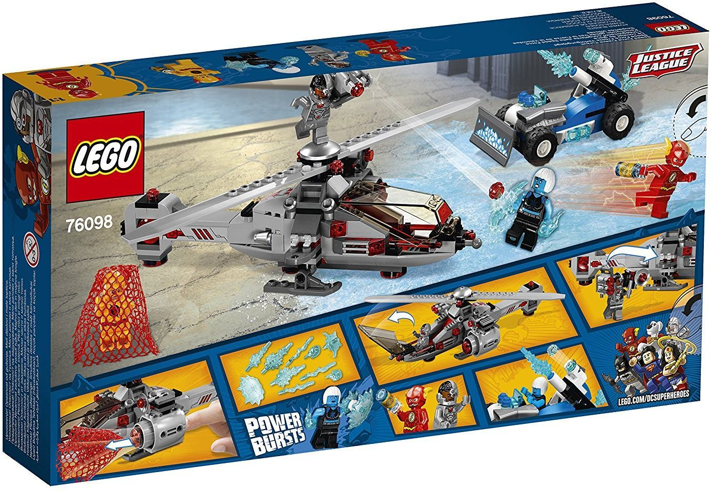 Конструктор Lego Super Heroes - Speed Force Freeze Pursuit (76098) - 3
