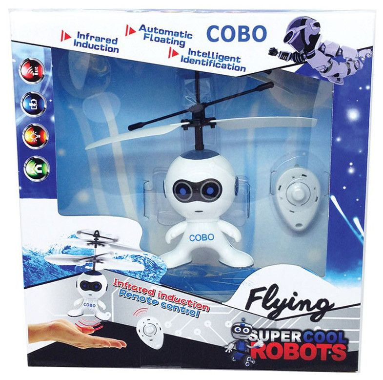 Летящ робот-астронавт - Cobo - 3