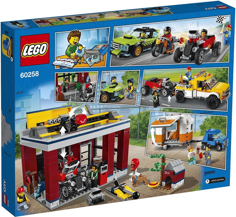 Конструктор Lego City Nitro Wheels - Сервиз за тунинг (60258) - 1