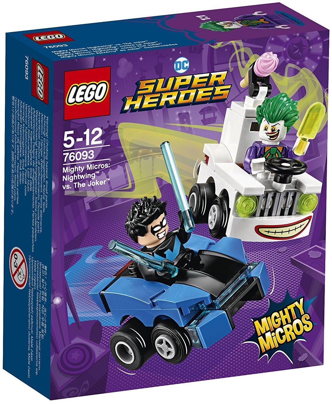 Конструктор Lego Super Heroes - Mighty Micros: Nightwing™ vs. The Joker™ (76093) - 1