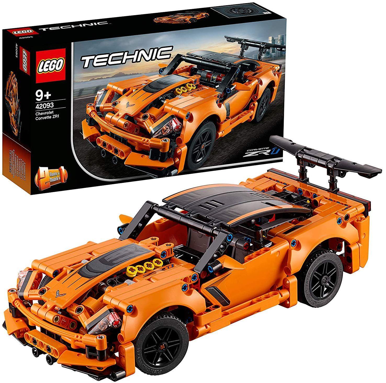 Конструктор Lego Technic - Chevrolet Corvette ZR1 (42093) - 6