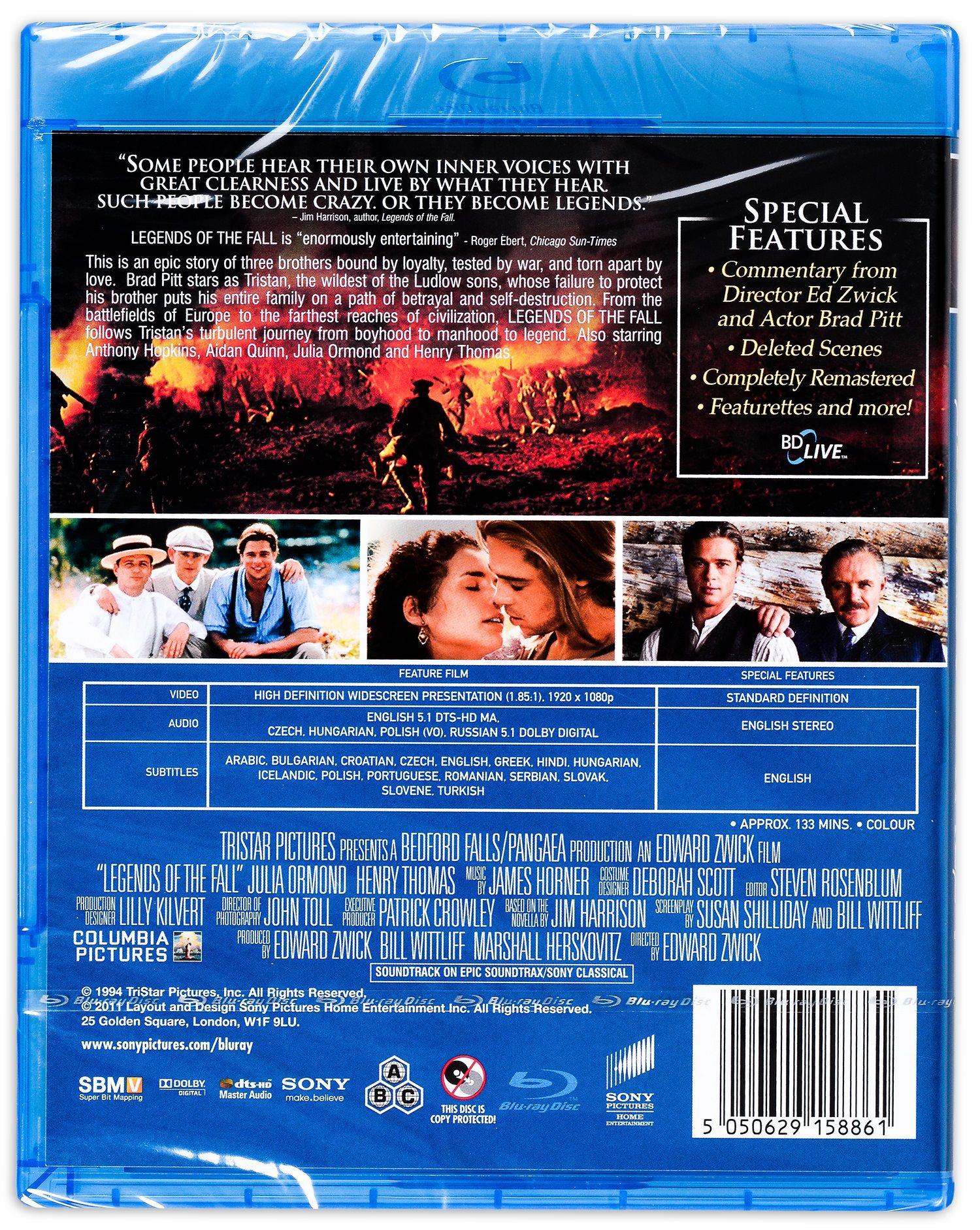 Легенди за страстта (Blu-Ray) - 2