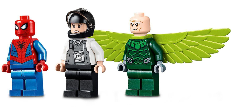 Конструктор Lego Marvel Super Heroes - Обир на камион с Vulture (76147) - 5