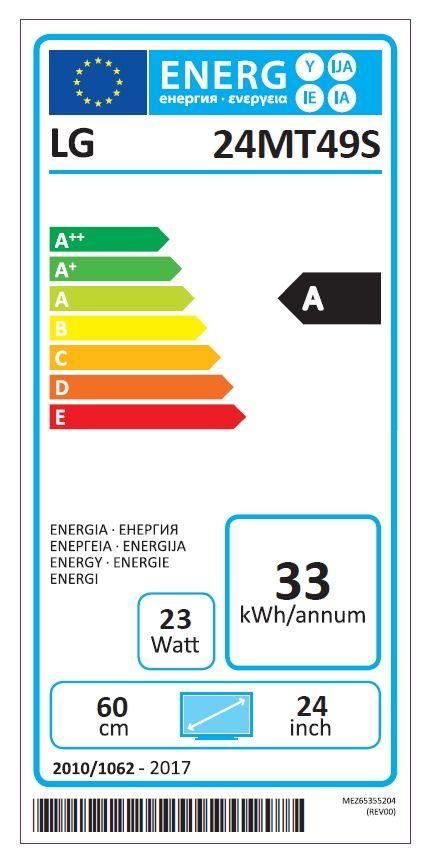 """Монитор с ТВ тунер LG 24MT49S-PZ - 23.6"""" VA, LED non Glare, Smart webOS - 6"""