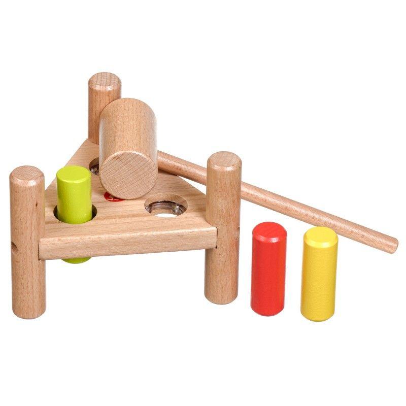 Дървена игра с чукче Lucy&Leo - 4