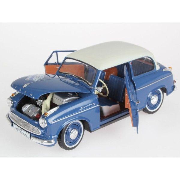 Сглобяем модел на автомобил Revell - Lloyd Alexander, Bluegrey (8463) - 3