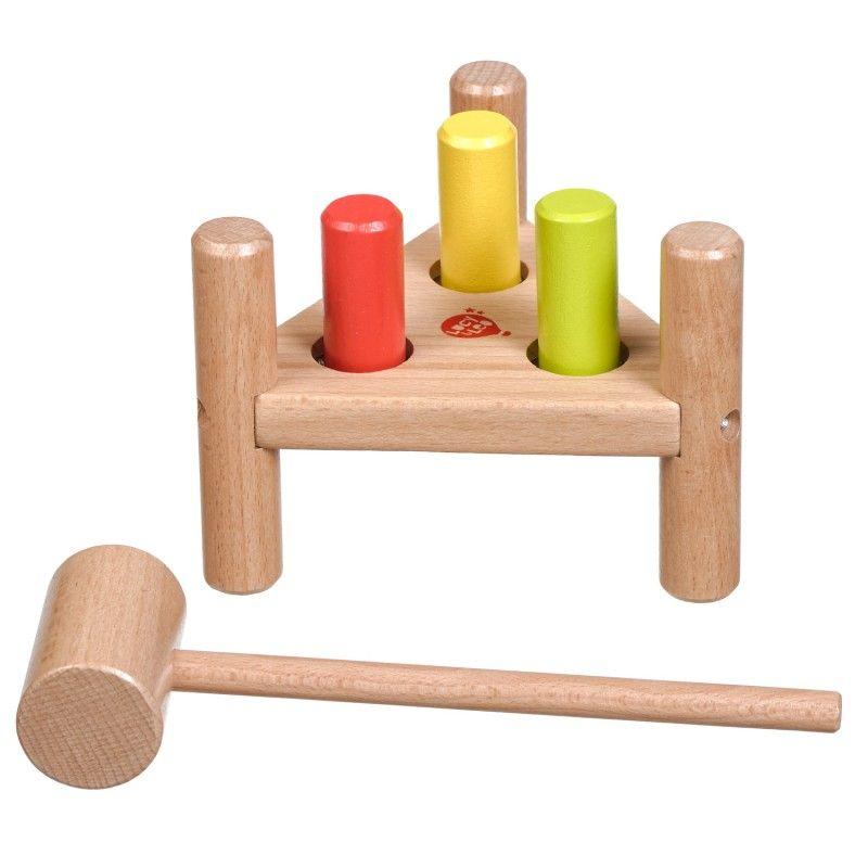 Дървена игра с чукче Lucy&Leo - 2