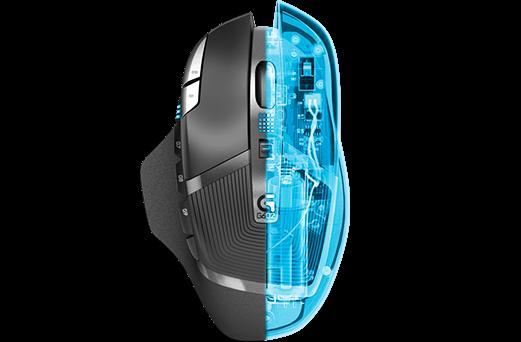 Геймърска мишка Logitech G602 Wireless EER Orient Packaging - 5