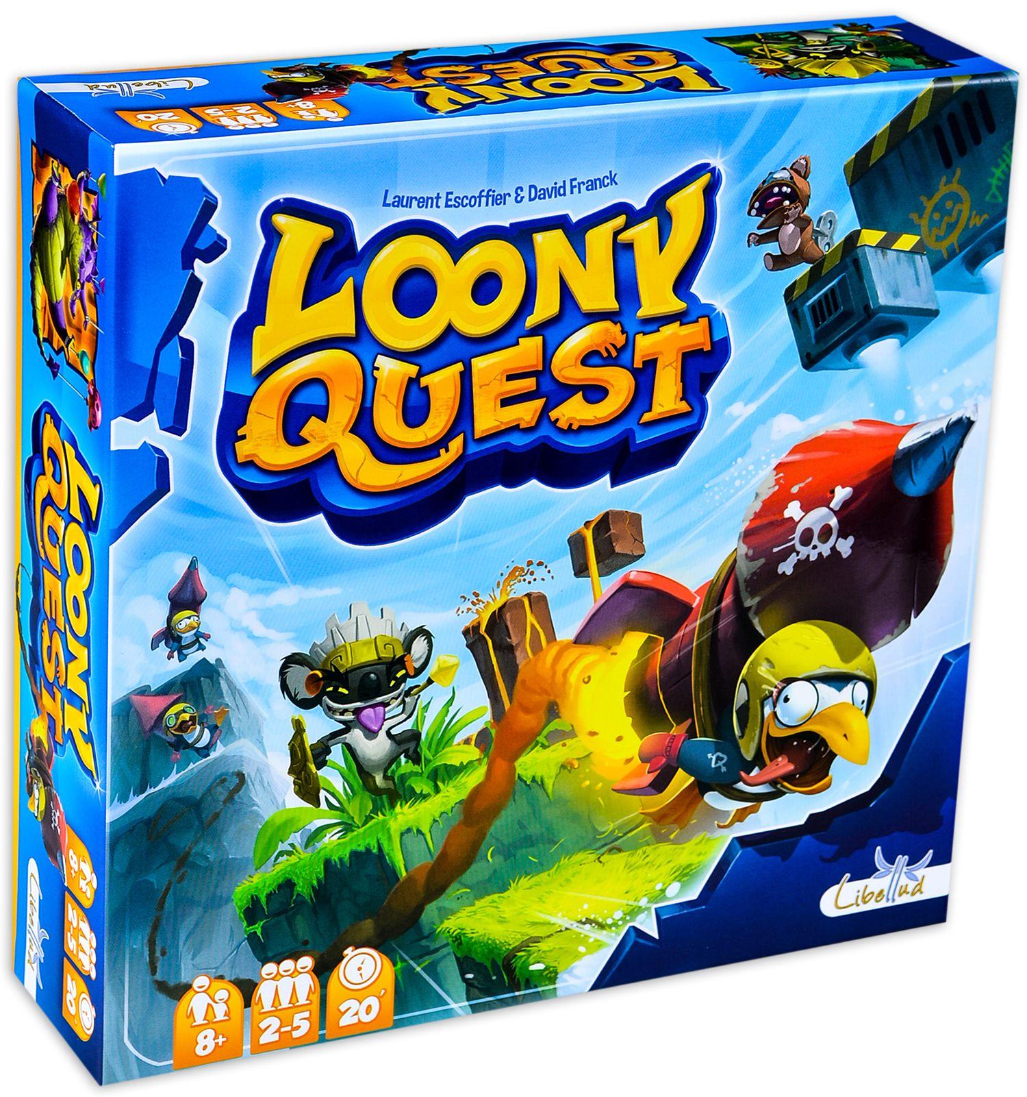 Парти настолна игра Loony Quest - 14