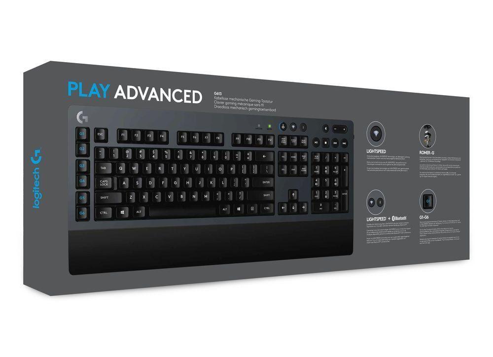 Механична клавиатура Logitech G613 - Romer-G суичове, безжична - 8