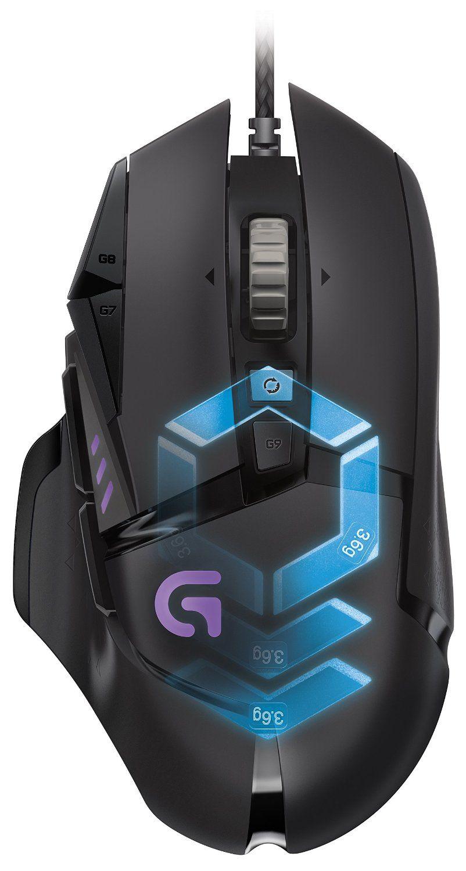 Гейминг мишка Logitech G502 Proteus Spectrum - RGB Tunable (разопакована) - 1