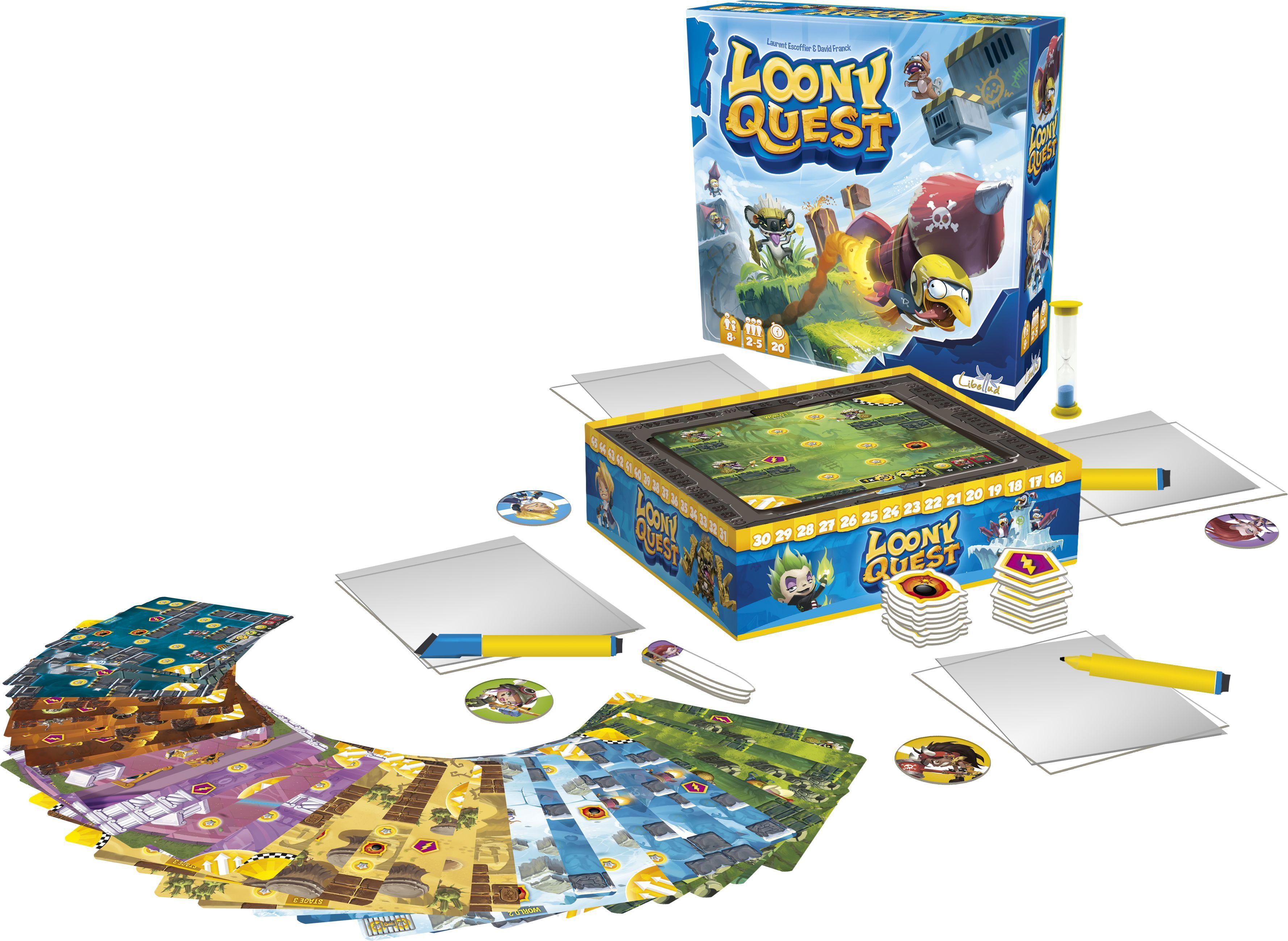 Парти настолна игра Loony Quest - 6