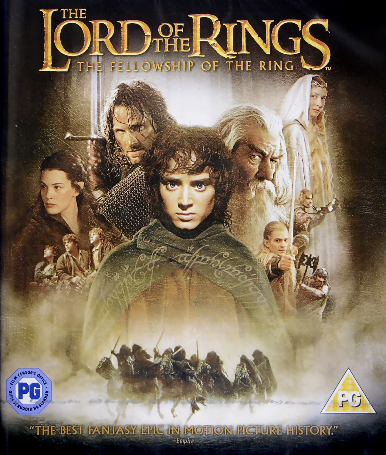 The Lord of the Rings: The Fellowship of the Ring (Blu-Ray) - 1