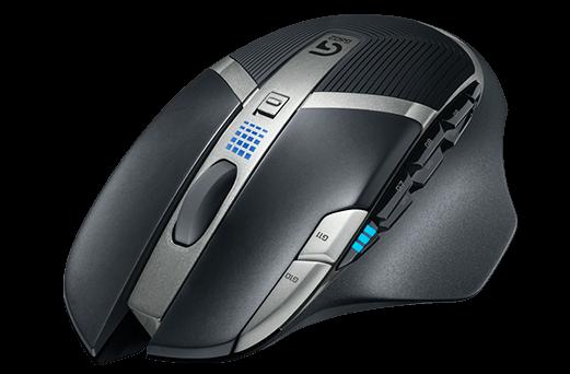 Геймърска мишка Logitech G602 Wireless EER Orient Packaging - 9