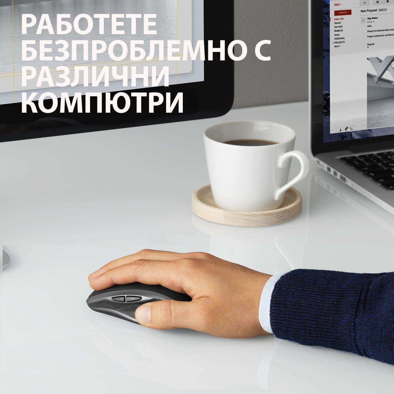 Безжична мишка Logitech MX Anywhere 2S, Graphite - 2