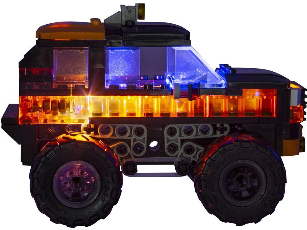 Светещ конструктор Laser Pegs Monster Rally - Саботьор - 6