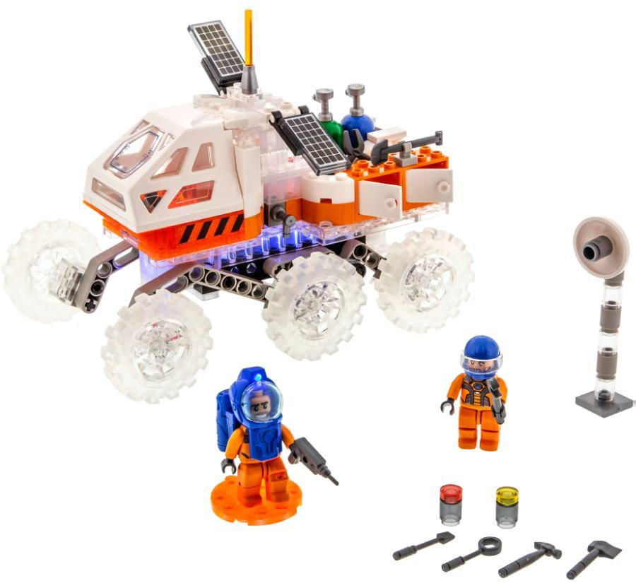 Светещ конструктор Laser Pegs Mission Mars - Марсоход - 5