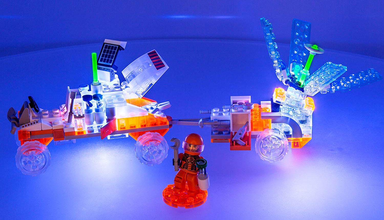Светещ конструктор Laser Pegs Mission Mars - Експедиция на Марс - 6