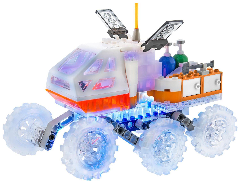 Светещ конструктор Laser Pegs Mission Mars - Марсоход - 4