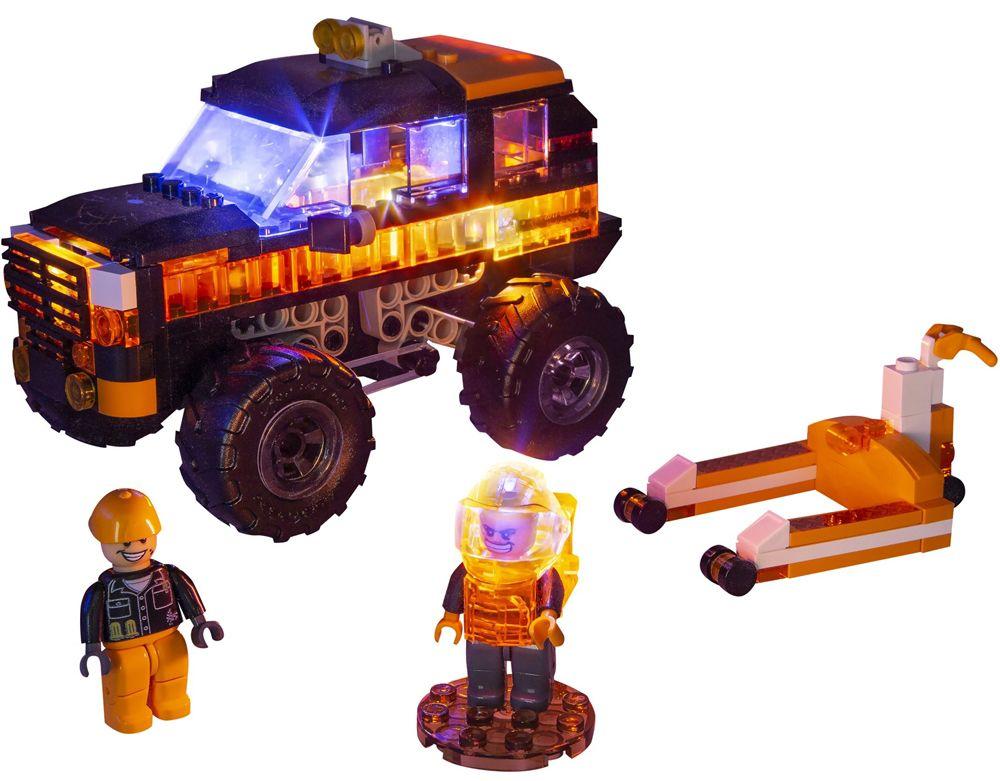 Светещ конструктор Laser Pegs Monster Rally - Саботьор - 5