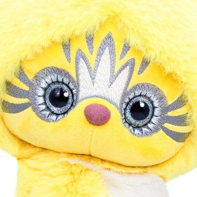 Плюшена играчка Budi Basa Lori Colori  - Ейка, в жълт цвят, 30 cm - 6