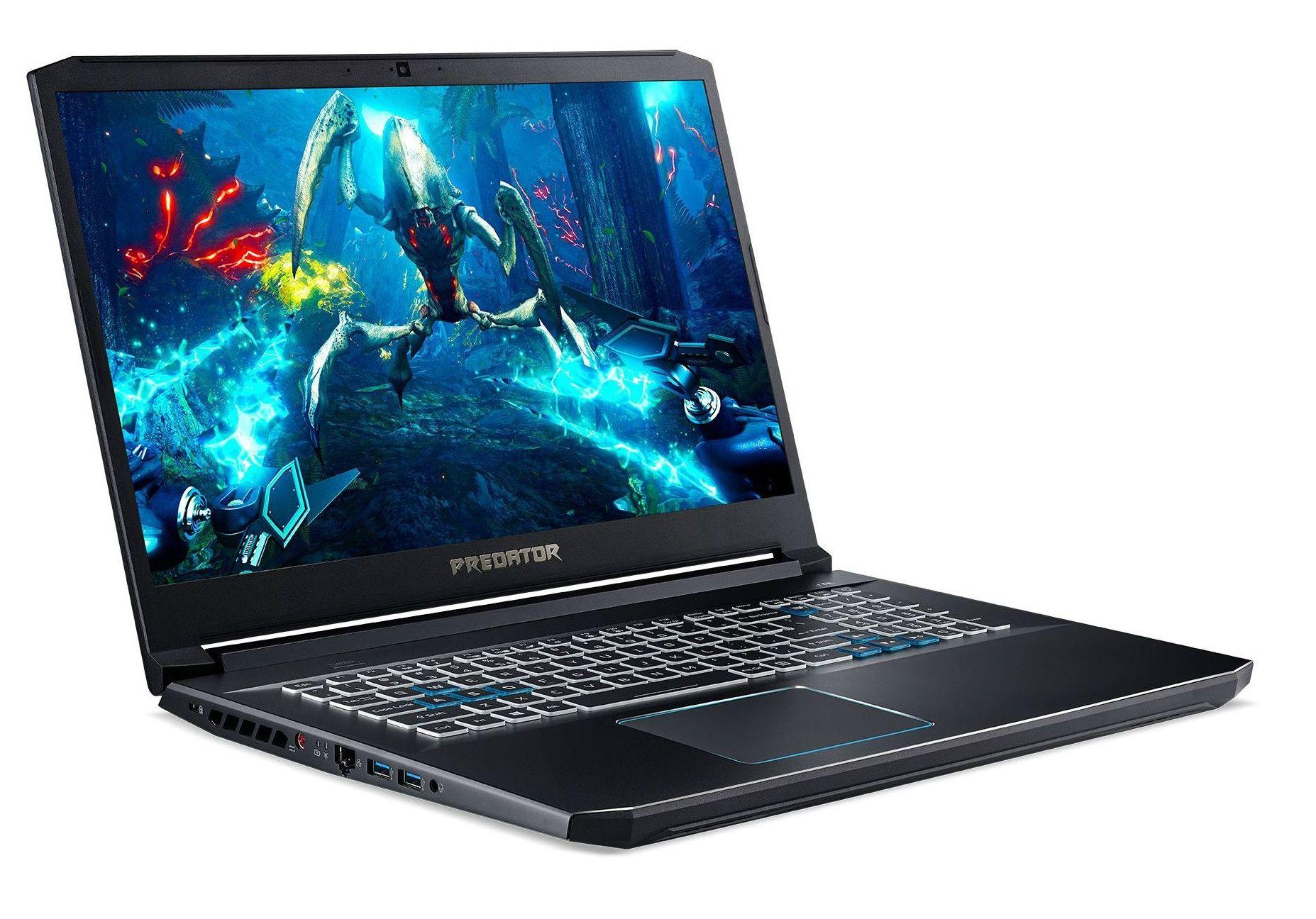 Гейминг лаптоп Acer - PH317-53-73V1, черен - 3