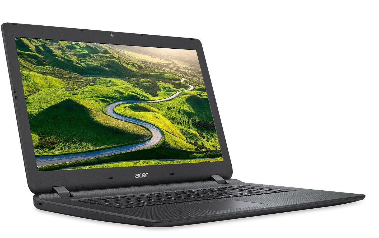 Лаптоп Acer - ES1-732-P2YD, черен - 3