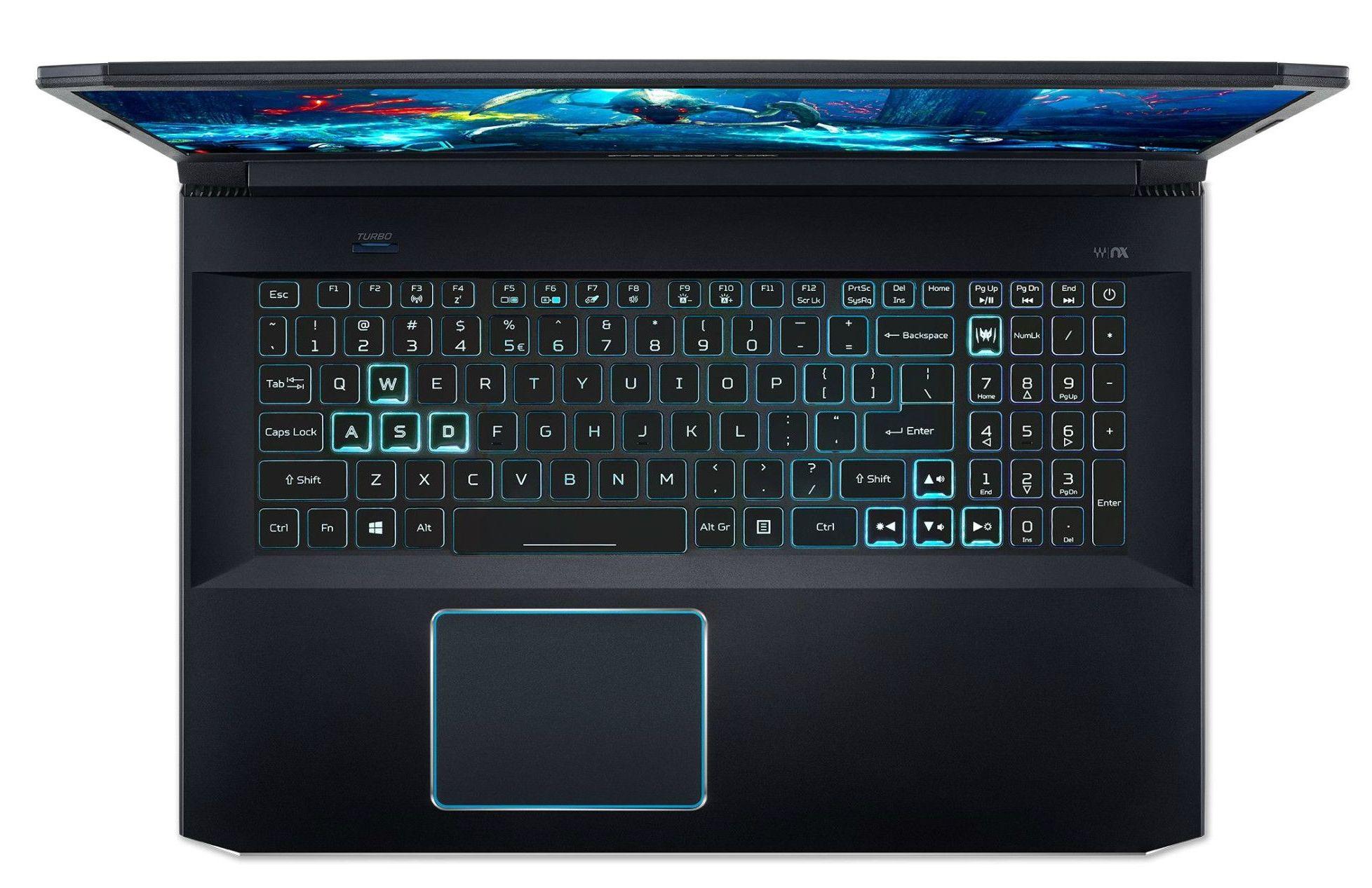 Гейминг лаптоп Acer - PH317-53-73V1, черен - 4
