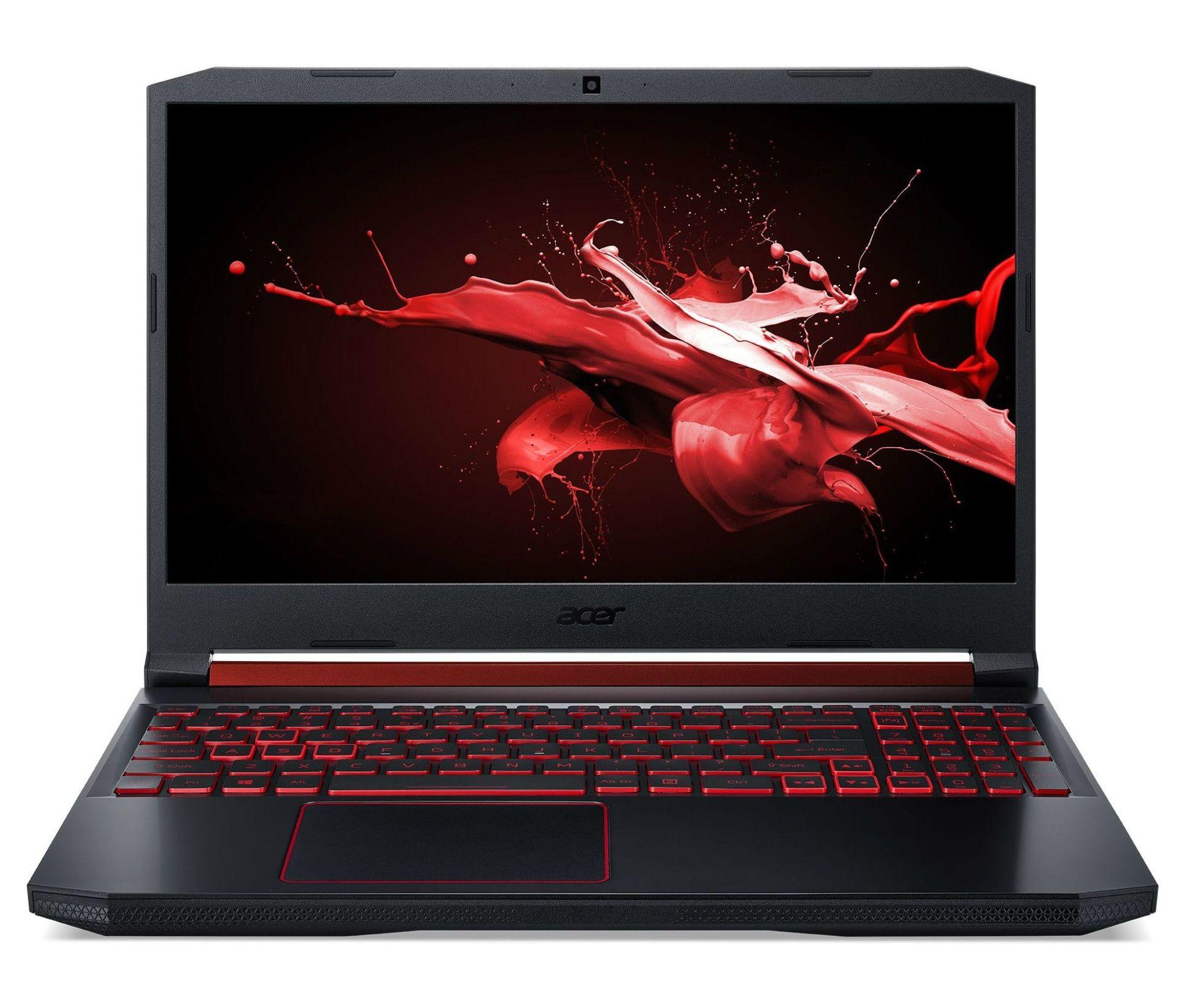 Лаптоп Acer - AN515-54-74U0, черен - 1