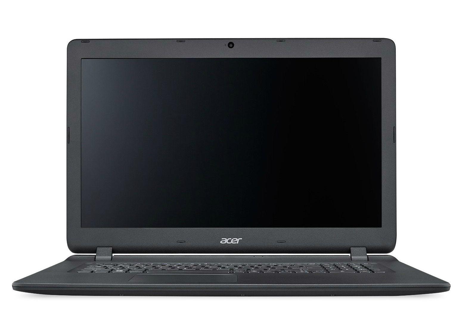 Лаптоп Acer - ES1-732-P2YD, черен - 1