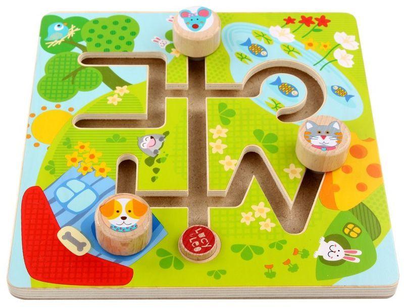 Дървен лабиринт Lucy&Leo - Животни - 3