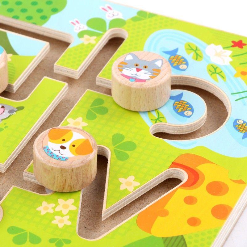 Дървен лабиринт Lucy&Leo - Животни - 4