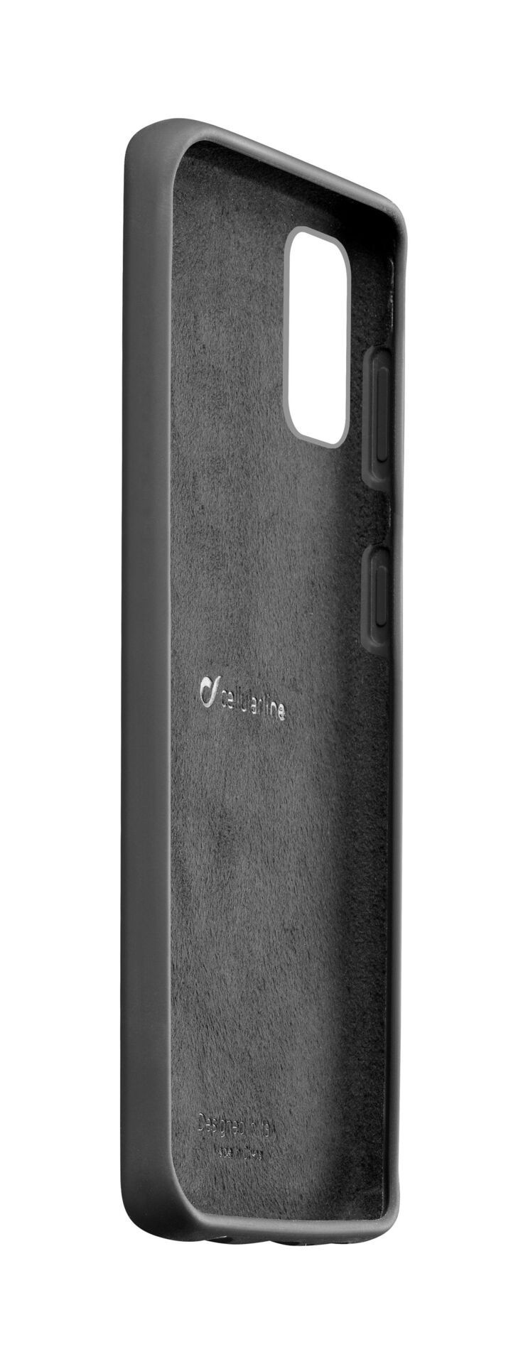 Калъф за Samsung Galaxy S10 Lite Cellularline - Sensation, черен - 2