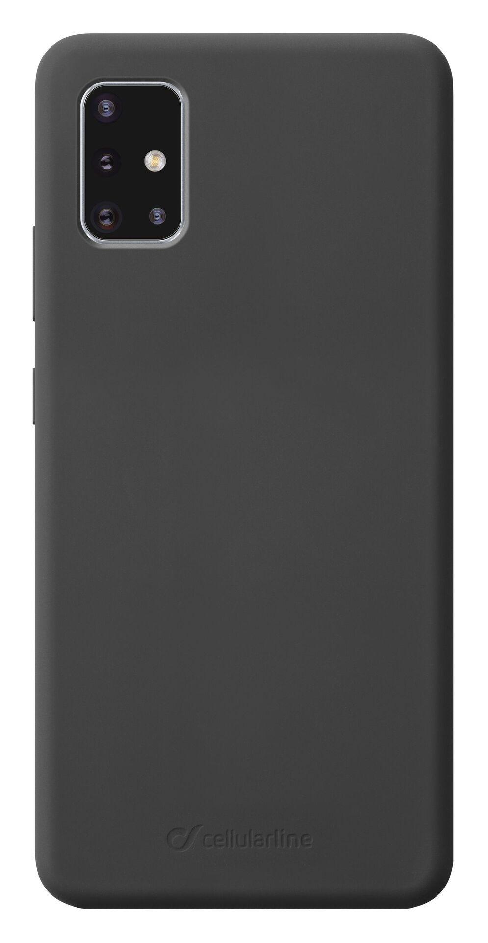 Калъф за Samsung Galaxy A51 Cellularline - Sensation, черен - 1