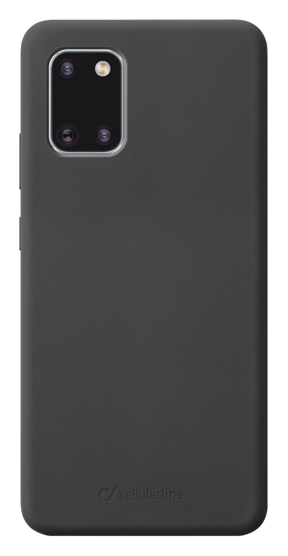 Калъф за Samsung Galaxy S10 Lite Cellularline - Sensation, черен - 1