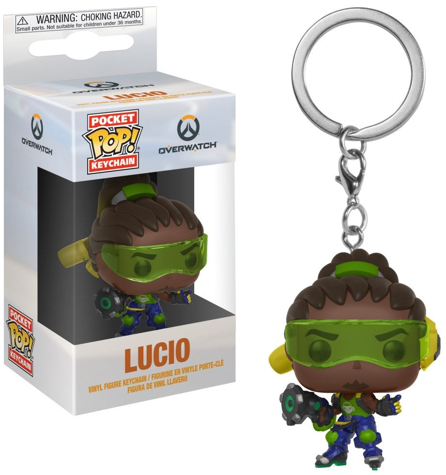 Ключодържател Funko Pocket Pop! Games: Overwatch - Lucio - 2