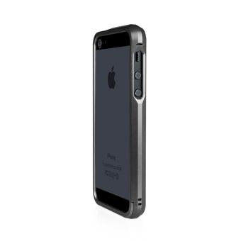 Macally Aluminium Frame за iPhone 5 -  черен - 6