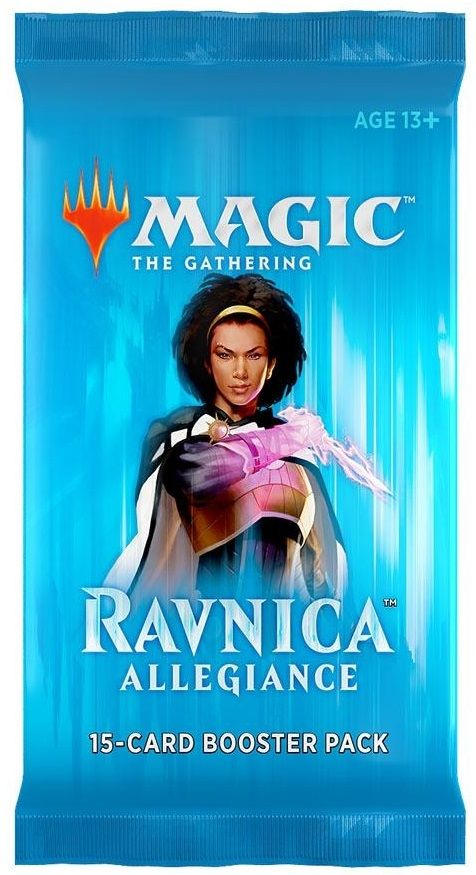 Magic the Gathering Ravnica Allegiance Booster Pack - 2